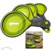 Collapsible Silicone Measuring Cup Set