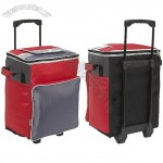 Collapsible Trolley Rolling Cooler Bag