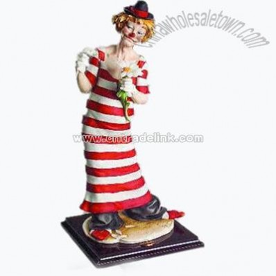 Collectible Clown Figurine