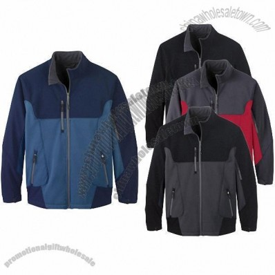 Color-Block Soft Shell Jacket - Men's