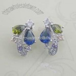 Color CZ Earring
