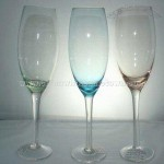 Color Champagne Glass