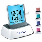 Color Changing LCD Digital Clock