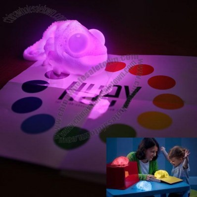 Color Copying Chameleon Lamp Night Light