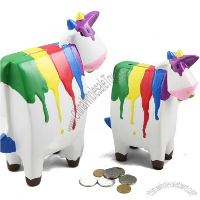 Color Cow Money Bank
