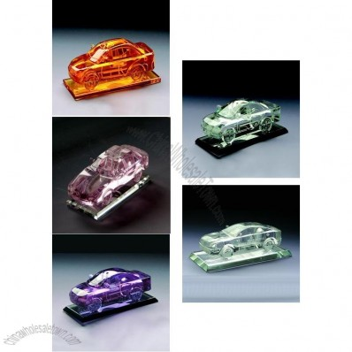 Color Crystal Car Model