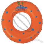 Color Dot Inflatable Swim Ring