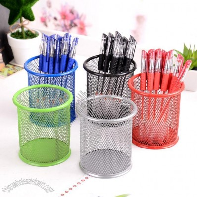 Color Mesh Pen Holder