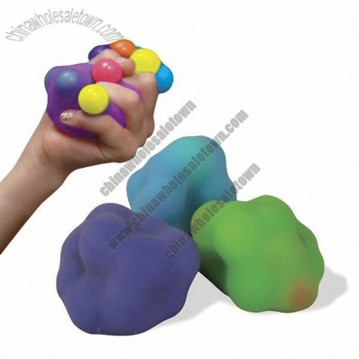 Color Molecule Stress Ball