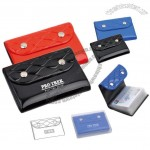Color PVC Card Holder