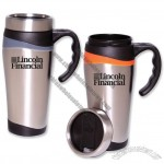 Color Touch Stainless Travel Mug, 16 oz.