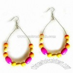 Color Wood Earring