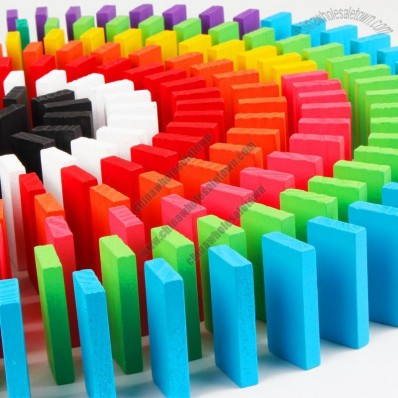 Color Wooden Domino