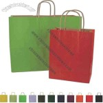 Color paper shopping bag