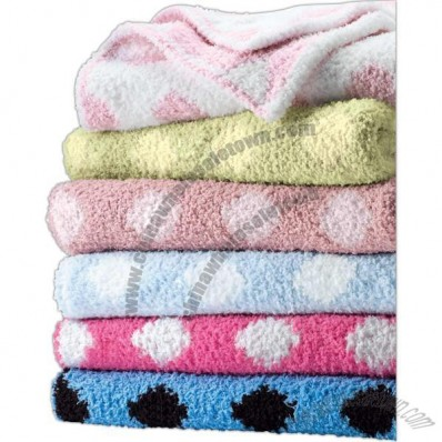 Colorado Clothing Crib Clouds Chunky Baby Blanket