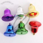 Colored Christmas Ornaments Bell