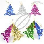 Colored Christmas Tree Shaped Pendant