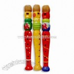 Colored Clarinet Toy Flue with Single Sound