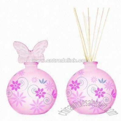 Colored Natural Reeds Diffuser Set