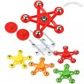 Colored Stars Hand Fidget Spinner
