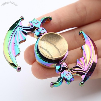 Colorful Bat High Speed EDC Fidget Spinner Gyro