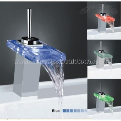 Colorful Bathroom LED Faucet Light