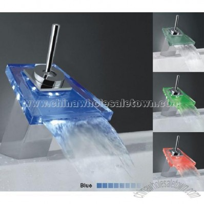 Colorful Bathroom LED Faucet