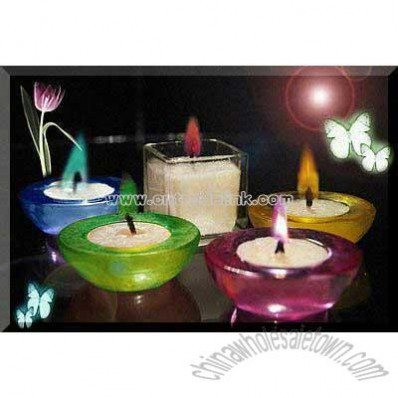 Colorful Candle