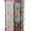 Colorful Circle Design PVC Door Curtain