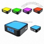Colorful Clock Display USB HUB
