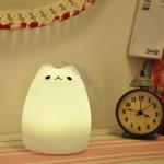 Colorful Cute Pet Silicone Night Light