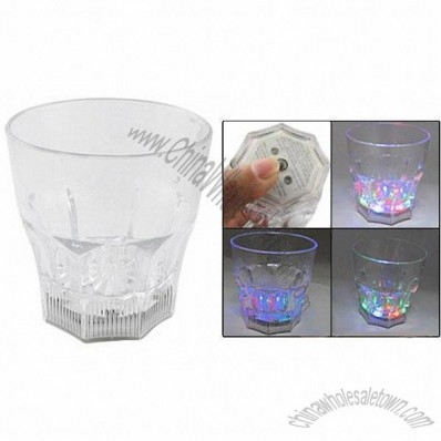 Colorful Flash Plastic Whisky Beer Drinking Cup
