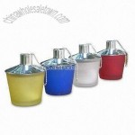 Colorful Glass Oil Lamps with SS Polished Cover