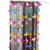 Colorful Heart Design PVC Door Curtain