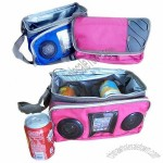 Colorful Insulated 8-can Cooler Bag with Velcro Straps