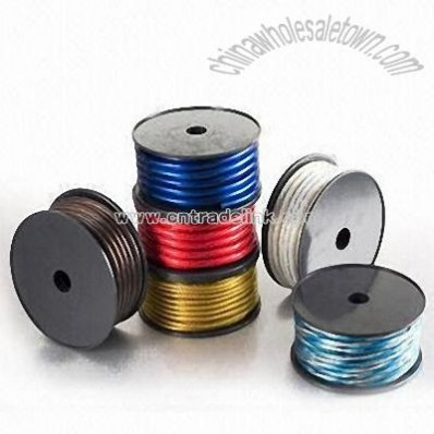 Colorful Jacket Speaker Wire