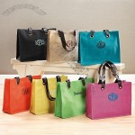 Colorful Jute Totes