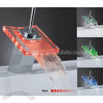 Colorful LED Bathroom Faucet