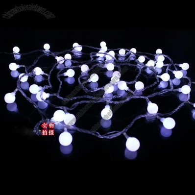 Colorful LED Sphere Lamp String