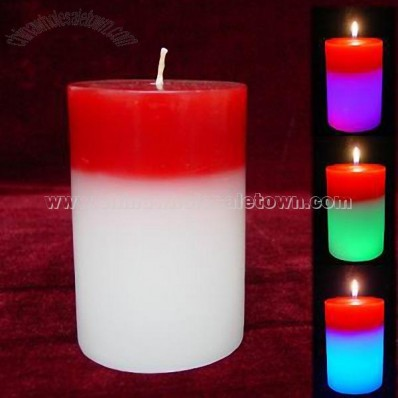 Colorful Music Candle