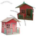 Colorful Playhouse with Balcony