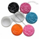 Colorful Rose Contact Lens Case