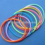 Colorful Silicone Rubber Bracelets