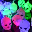Colorful Skull LED String Light