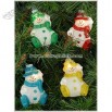 Colorful Snowman 10 Light Set