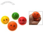 Colorful Squeeze Toss Foam Smiley Stress Balls