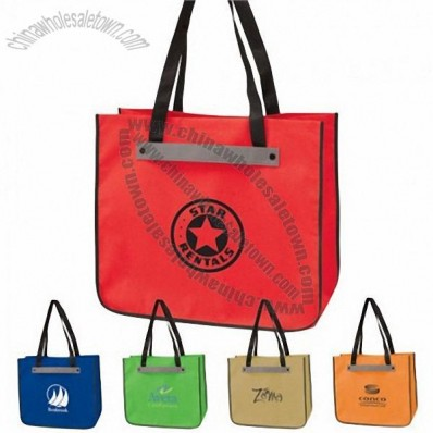 Colorplay Eco Friendly Polypro Non-Woven Strap Tote Bag