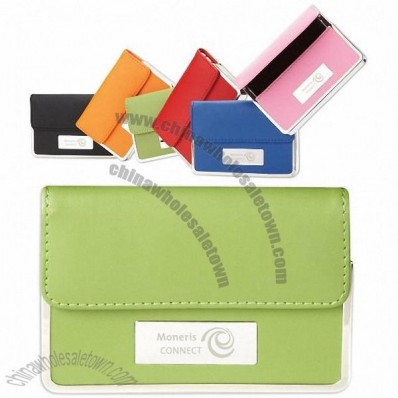 Colorplay Promotional Business Card Holder