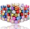 Colors Christmas Balls Set