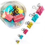 Colourful Binder Clips